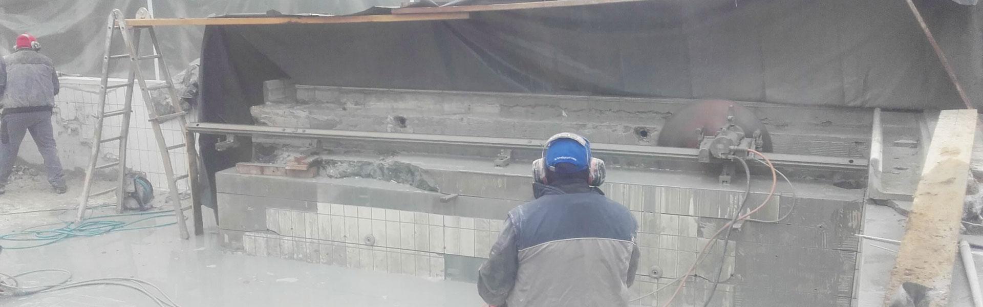Betonsägen bei der Schlögl Bau GbR in Stubenberg